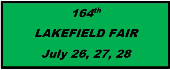 164th Lakefield Fair